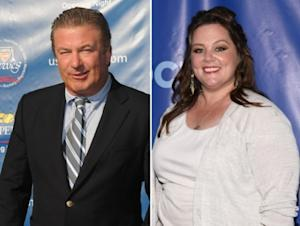 Alec Baldwin, Melissa McCarthy -- Getty Images