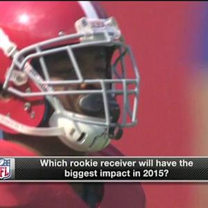 Which rookie wide receiver will have biggest impact in 2015?