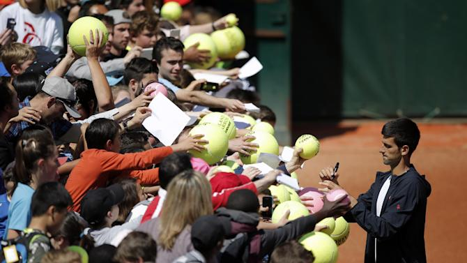 FRENCH OPEN LOOKAHEAD: Nadal, Djokovic finally get started