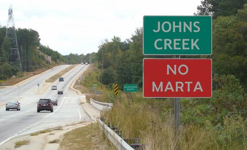 Johns Creek Rejects MARTA. So Let's Reject Johns Creek!