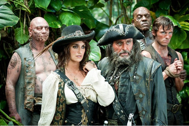 Pirates of the Caribbean On Stranger Tides 2011 Penelope Cruz Ian McShane