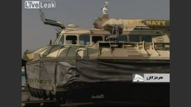 Iran Unveils Hovercraft That Launches Drones, Missiles (ABC News)