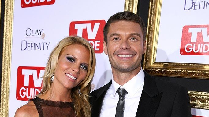 Ryan Seacrest  and guest attends the The 59th Primetime EMMY Awards TV Guide After Party. Ryan Seacrest