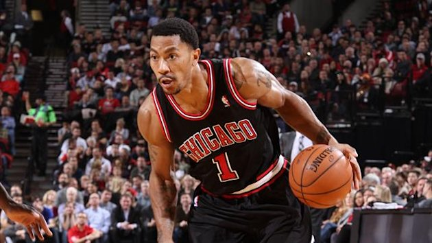 Basketball NBA 2013-2014 Chicago Bulls Derrick Rose