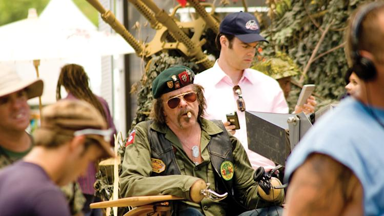 Nick Nolte Bill Hader Tropic Thunder Production Stills DreamWorks 2008