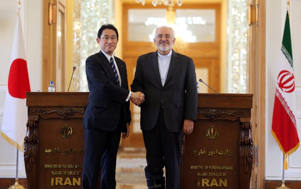 Japan FM says nuclear deal will speed Iran cooperation