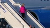 Clinton arrives in Myanmar for talks