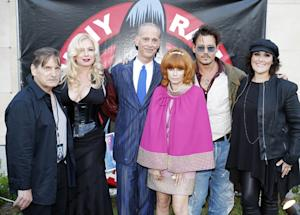 Johnny Depp a Surprise Guest at Johnny Ramone Tribute