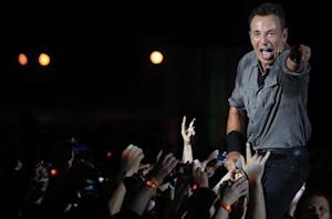 U.S. singer Bruce Springsteen and the Street Band perform at the Rock in Rio Music Festival in Rio de Janeiro