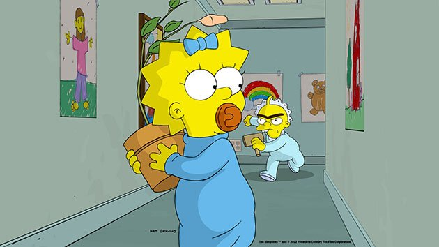 THE SIMPSONS: THE LONGEST DAYCARE, Maggie Simpson, 2012, TM and Copyright 20th Century Fox Film Corp. All rights reserved.