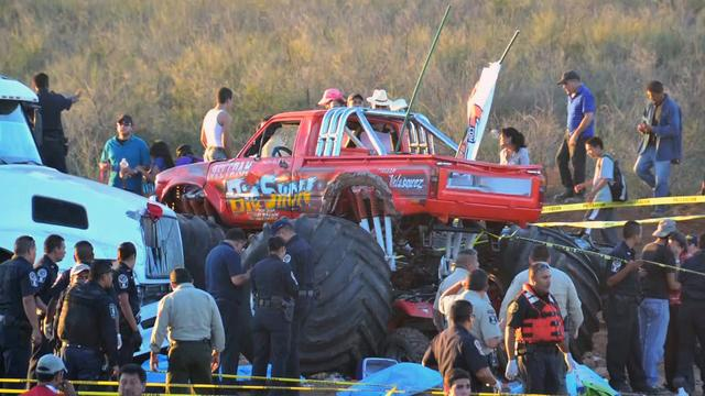 Out-of-control monster truck in Mexico kills eight