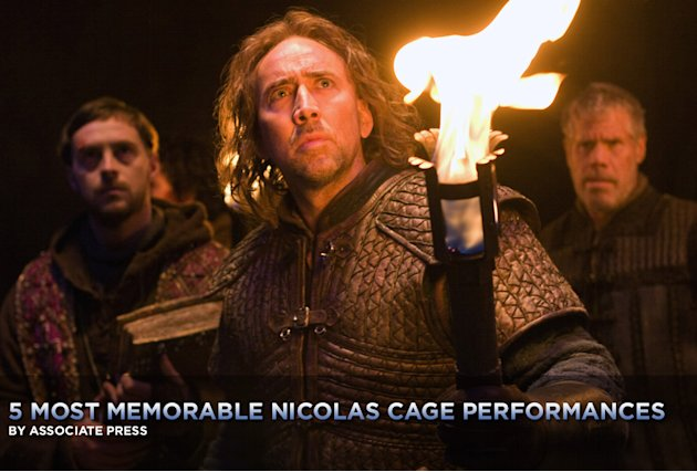 5 Most Memorable Nicolas Cage Movies Title Card