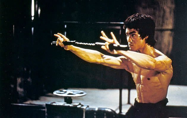 The legendary Bruce Lee. (Rex Photo)