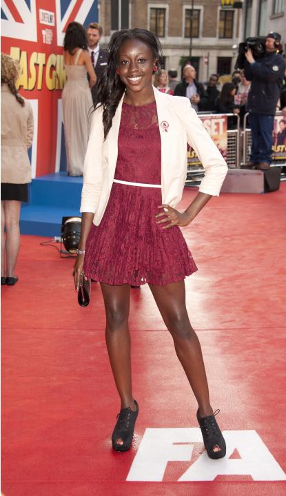 Jeanette Kwakye The UK film premiere of 'Fast Girls' held at the Odeon West End - Arrivals  London, UK - 07.06.12 Credit: (Mandatory): WENN.com