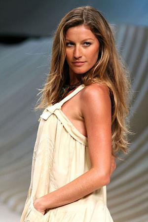 Gisele, Tom Brady Welcome a Daughter - More 2012 Baby News from Victoria's Secret Models