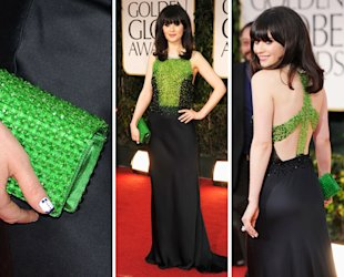 Zoe Deschanel in Prada