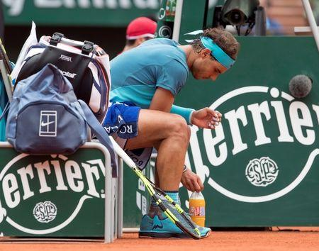 Tennis: French Open Nadal/Bagnis