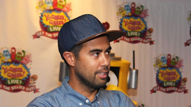 Eric Koston attends Yo Gabba Gabba! Live!: Get The Sillies Out! 50+ city tour kick-off performance on Thanksgiving weekend at Nokia Theatre L.A. Live on Friday Nov. 23, 2012 in Los Angeles. (Photo by John Shearer/Invision for GabbaCaDabra, LLC./AP Images)