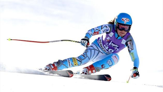 Alpine Skiing - McKennis leaves Vonn chasing shadows in St Anton