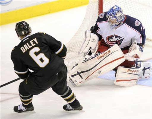 Blue Jackets keep playoff hopes alive with 3-1 win