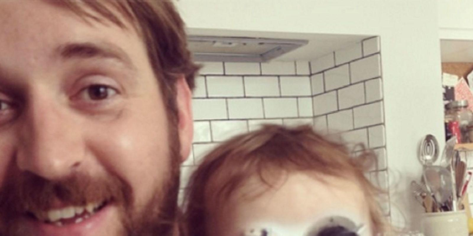 The Longer You Stare at This Father-Daughter Face Swap, the More Hilarious It Gets