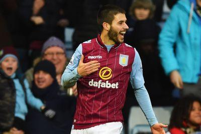 Carles Gil scored a crazy curling stunner for Aston Villa