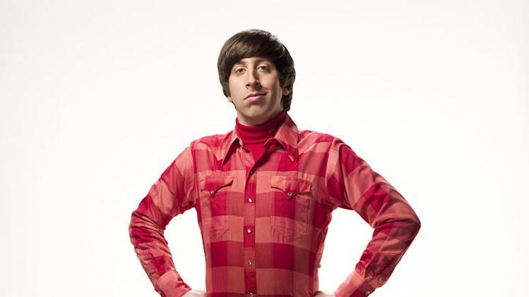 "Simon Helberg stars as Wolowitz in ""The Big Bang Theory."""