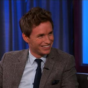 Eddie Redmayne Talks Stalking Jennifer Aniston