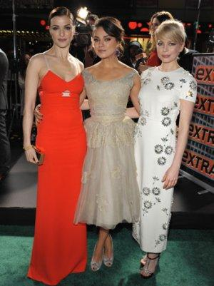 Mila Kunis, Michelle Williams, Rachel Weisz: Which Witch Was More Wicked at the 'Oz' Premiere? (Poll)