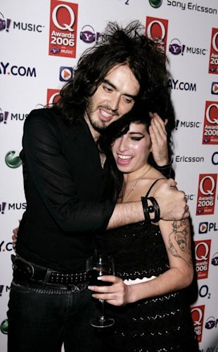 Amy Winehouse e Russell Brand (Getty Images)