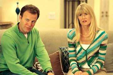 Tom McCarthy and Laura Dern of Paramount Vantage's Year of the Dog