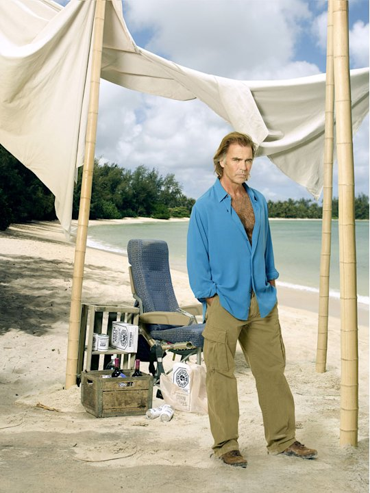 "Jeff Fahey stars as Frank Lapidus on ""Lost."""