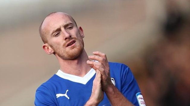 "Drew Talbot says Chesterfield is ""home"" after penning a new deal"