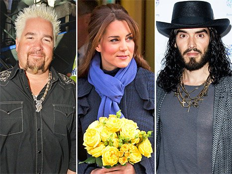 Kate Middleton and Prince William Go on a Babymoon, Guy Fieri &quot;Threw a Fit&quot; After Being Rejected From VIP: Top 5 Stories of Today