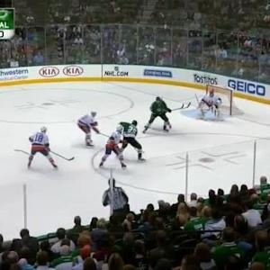 Jaroslav Halak Save on Brett Ritchie (10:59/2nd)