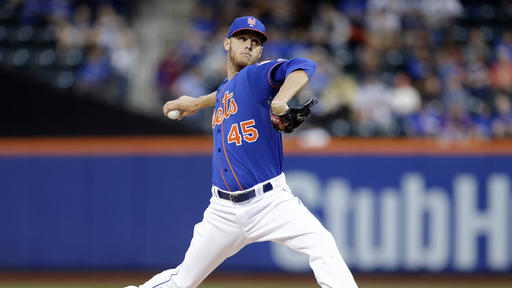Wheeler Ks 10, Campbell homers as Mets beat Cubs