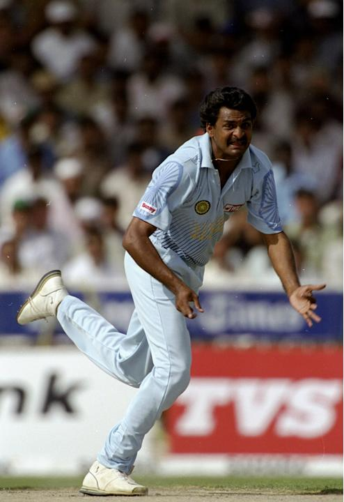 Javagal Srinath of India