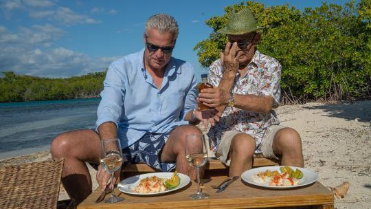WATCH: Surf's Up in Puerto Rico with Eric Ripert