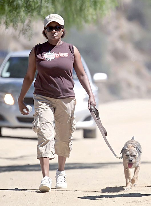 Sykes Wanda Walks Dog