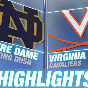 Notre Dame vs Virginia | 2015 ACC Women's Lacrosse Championship Highlights
