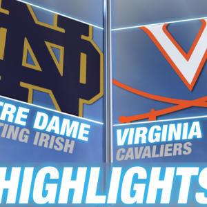 Notre Dame vs Virginia   2015 ACC Women's Lacrosse Championship Highlights