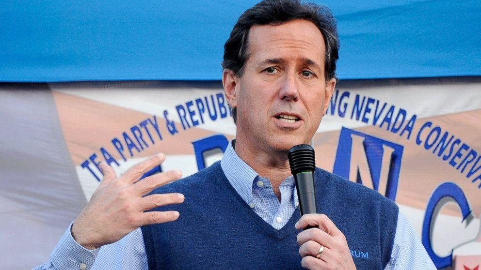 Rick Santorum May Ditch Sweater Vests for 2016