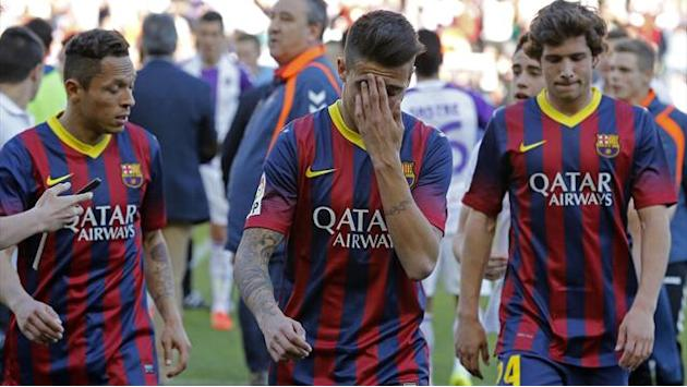 "Champions League - Nasri: Valladolid defeat proves Barcelona only ""human"""