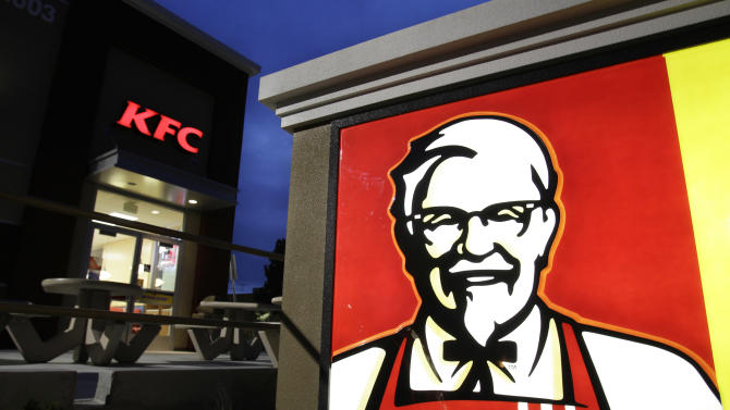 KFC parent Yum Brands 3Q net income drops