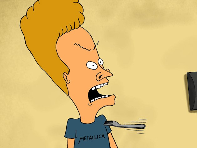 Beavis in &quot;Beavis and Butt-head.&quot; 