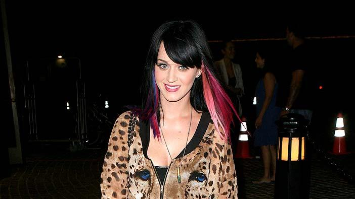 Perry Katy Out InNY
