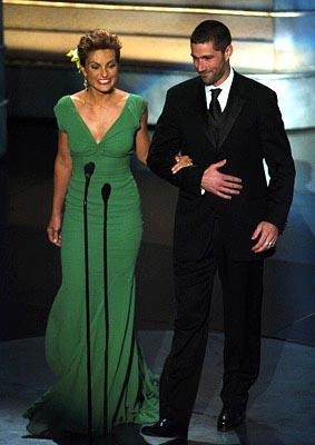Mariska Hargitay and Matthew Fox Presenters for Outstanding Guest Actor/Actress in a Drama Series Emmy Awards - 9/19/2004