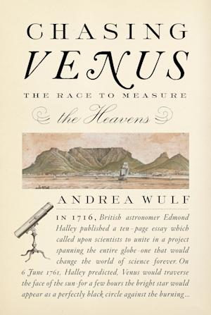 """In this book cover image released by Alfred A. Knopf, """"Chasing Venus: The Race to Measure the Heavens,"""" by Andrea Wulf, is shown. (AP Photo/Alfred A. Knopf)"""