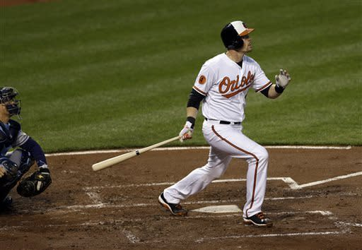 Wieters homers as Orioles beat skidding Rays 5-4