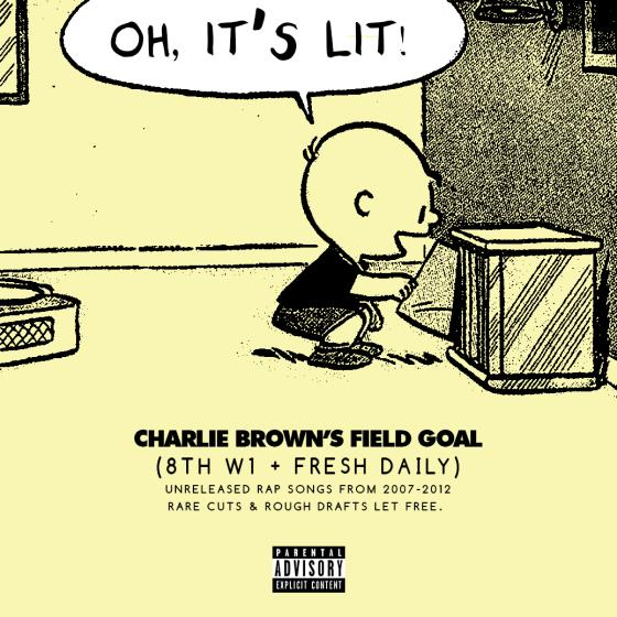 Oh, It's Lit! 8thW1 & Fresh Daily Score As Charlie Brown's Field Goal